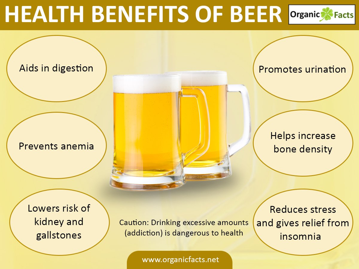 7 Amazing Health Benefits of Beer You Must Know