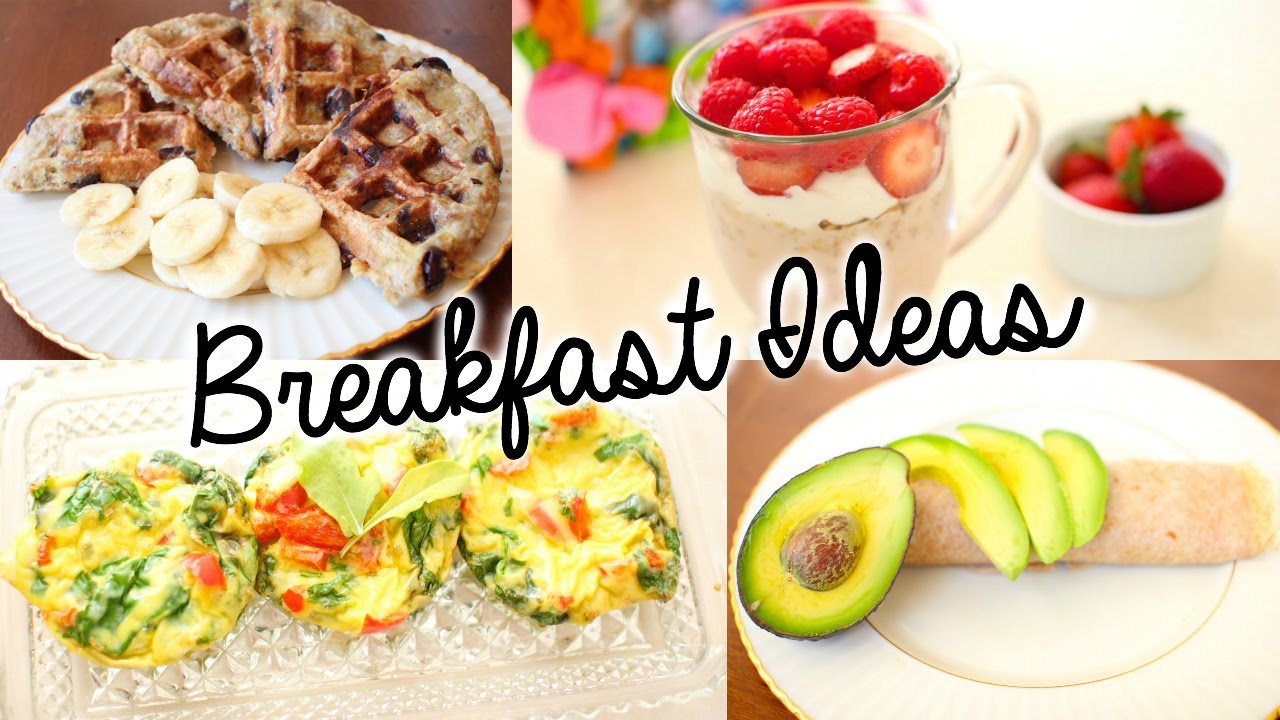 Healthy Breakfast Idea – Egg, Oatmeal, Greek Yogurt, Sprouts, Fruit Salad