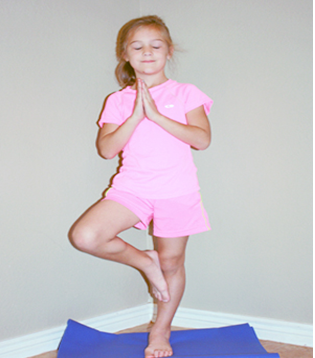 fun  easy yoga poses for kids to keep them active